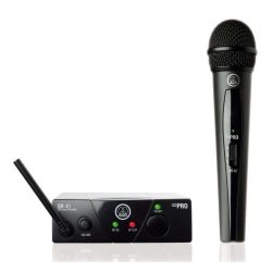 Micrófono Inalámbrico para Instrumento AKG WMS40 MINI Vocal BD US45A