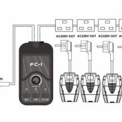 Control de luminarias TECSHOW FC-1