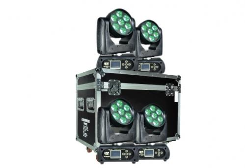 Cabezal móvil 3 en 1 TECSHOW ION-710B