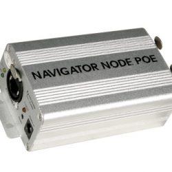 Controlador DMX TECSHOW NAVIGATOR NODE POE
