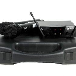 Micrófono inalámbrico de mano TECSHOW WMX-120/HMX-100