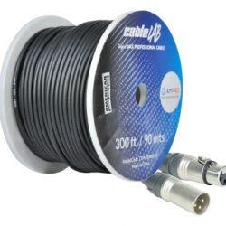 Cables Dmx 90 conector STAGELAB CLM-3DMX-9064C